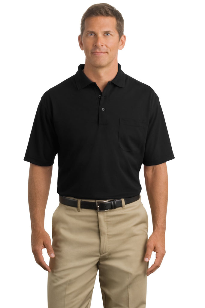 CornerStone® - Industrial Pocket Pique Polo. CS402P - CornerStone - Officers Only - 1