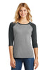 District Made® Ladies Perfect Tri™ 3/4-Sleeve Raglan. DM136L - District Made - Officers Only - 1