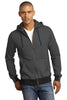 District Made® - Mens Mini Stripe Full-Zip Hoodie. DM390 - District Made - Officers Only - 1