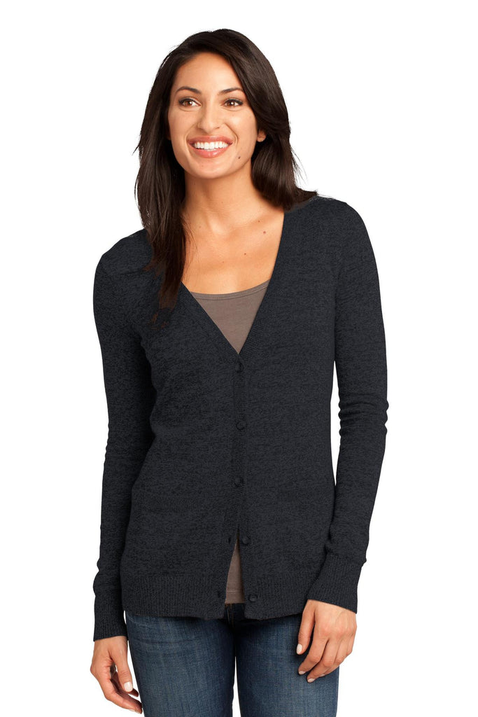 District Made® - Ladies Cardigan Sweater. DM415 - District Made - Officers Only - 1
