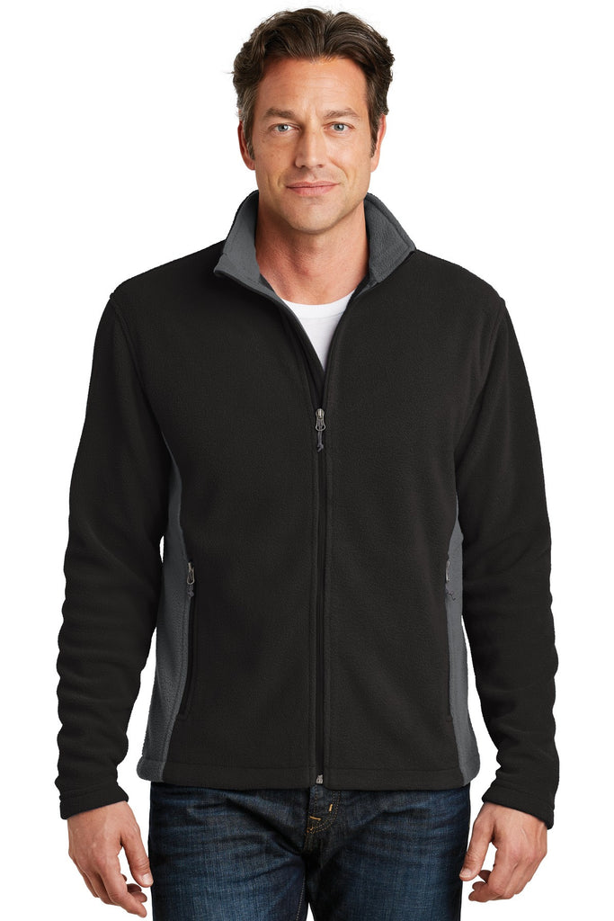 Port Authority® Colorblock Value Fleece Jacket. F216 - Port Authority - Officers Only - 1