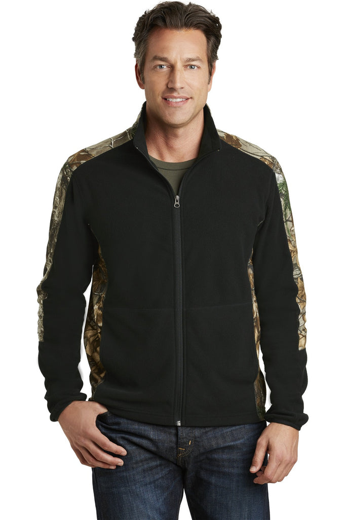 Port Authority® Camouflage Microfleece Full-Zip Jacket. F230C - Port Authority - Officers Only