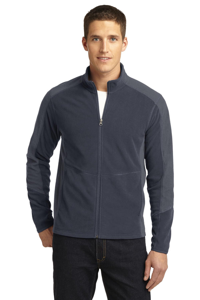 Port Authority® Colorblock Microfleece Jacket. F230 - Port Authority - Officers Only - 1