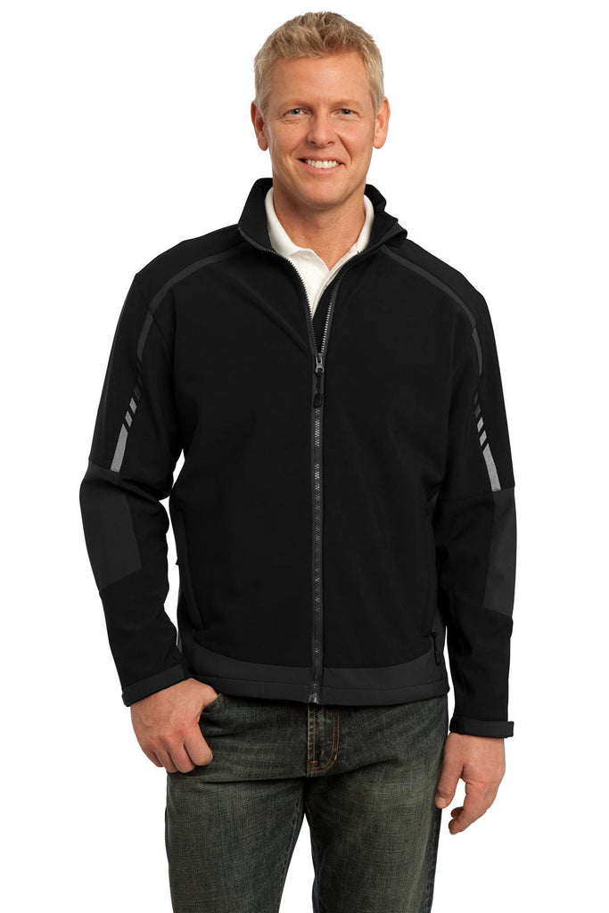 Port Authority® Embark Soft Shell Jacket. J307 - Port Authority - Officers Only - 1