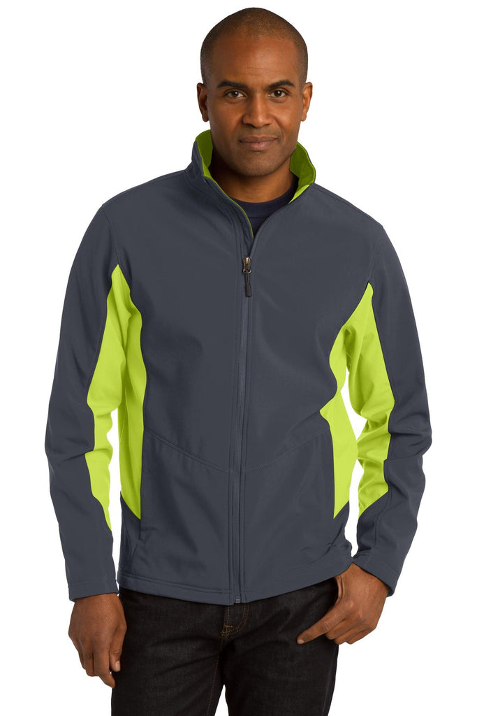 Port Authority® Core Colorblock Soft Shell Jacket. J318 - Port Authority - Officers Only - 1
