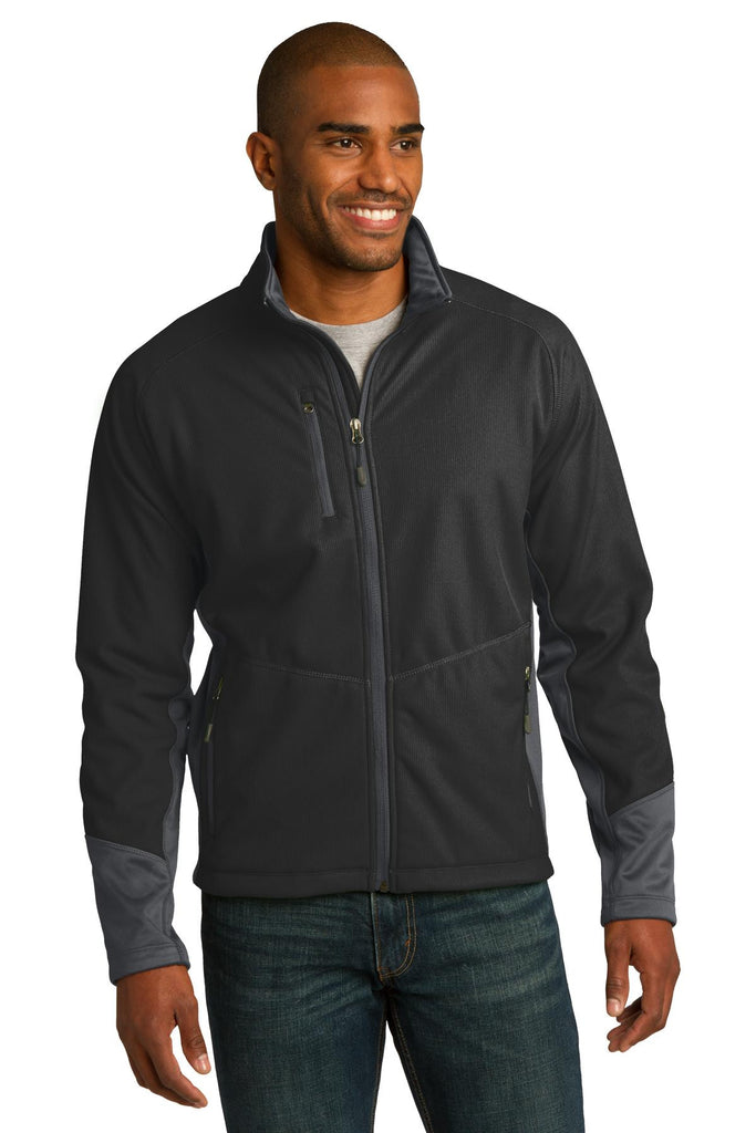 Port Authority® Vertical Soft Shell Jacket. J319 - Port Authority - Officers Only - 1