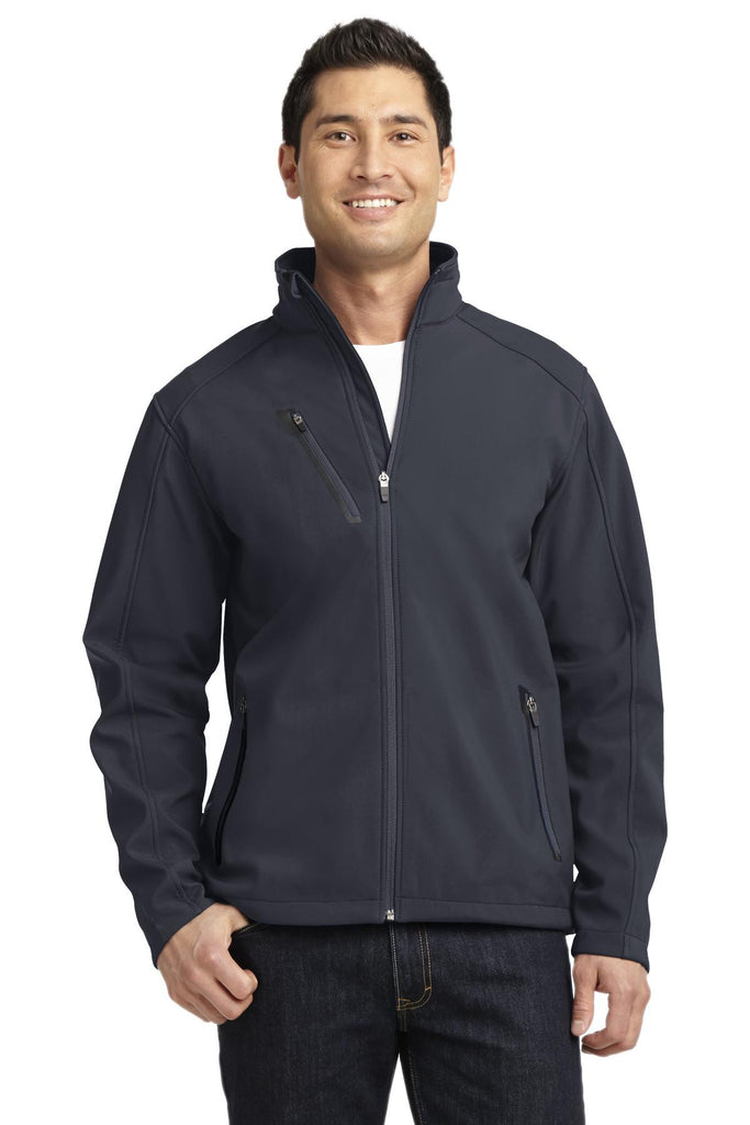 Port Authority® Welded Soft Shell Jacket. J324 - Port Authority - Officers Only - 1