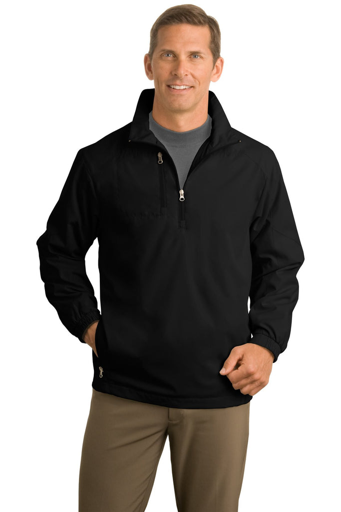 Port Authority® 1/2-Zip Wind Jacket. J703 - Port Authority - Officers Only - 1
