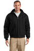CornerStone® - Duck Cloth Hooded Work Jacket.  J763H - CornerStone - Officers Only - 1
