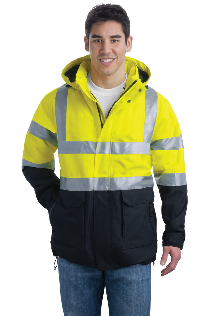 Port Authority® ANSI 107 Class 3 Safety Heavyweight Parka. J799S - Port Authority - Officers Only