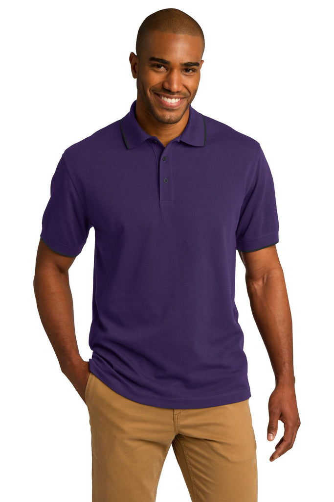 Port Authority® Rapid Dry™ Tipped Polo. K454 - Port Authority - Officers Only - 1