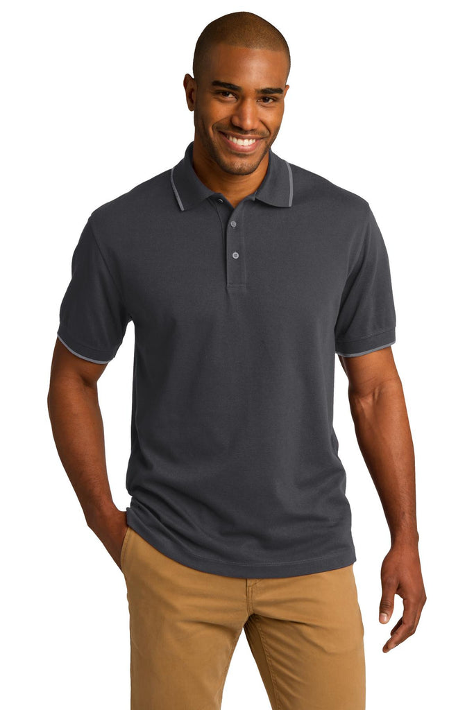 Port Authority® Rapid Dry™ Tipped Polo. K454 - Port Authority - Officers Only - 2