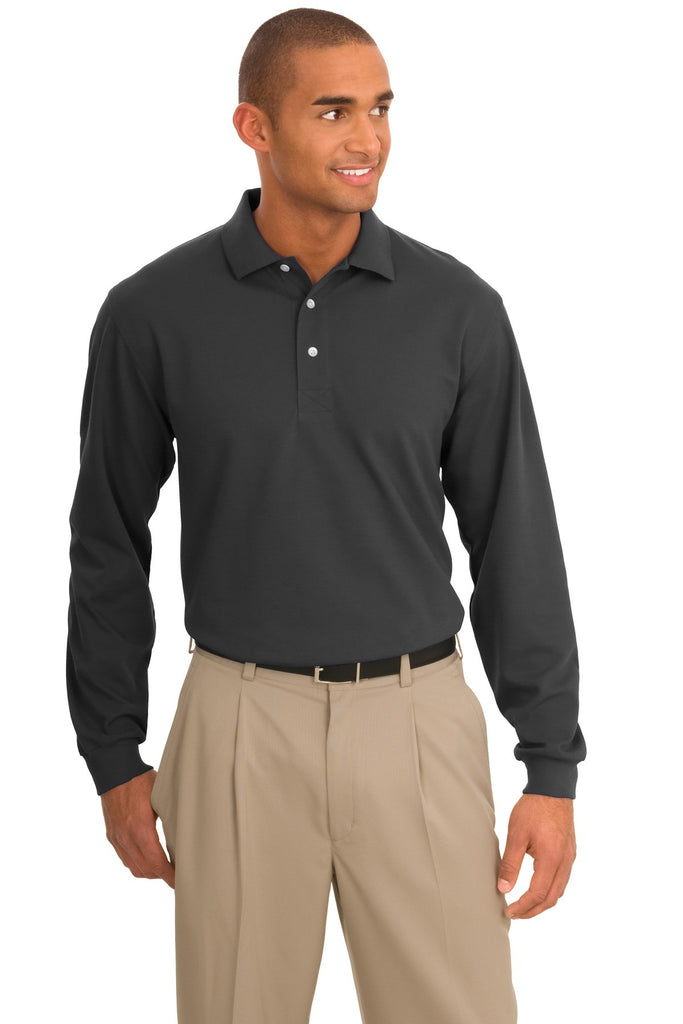 Port Authority® Rapid Dry™ Long Sleeve Polo.  K455LS - Port Authority - Officers Only - 1