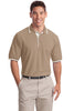 Port Authority® Silk Touch™ Polo with Stripe Trim.  K501 - Port Authority - Officers Only - 2