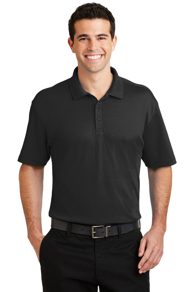 Port Authority® Silk Touch™ Interlock Performance Polo. K5200 - Port Authority - Officers Only - 1