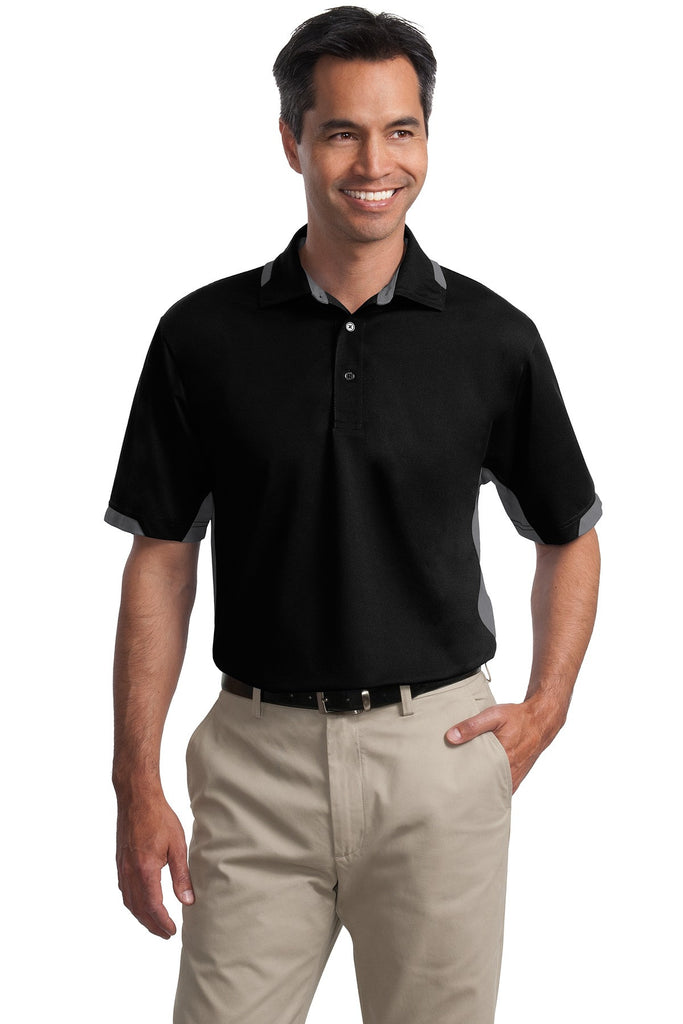 Port Authority® Dry Zone® Colorblock Ottoman Polo. K524 - Port Authority - Officers Only - 1