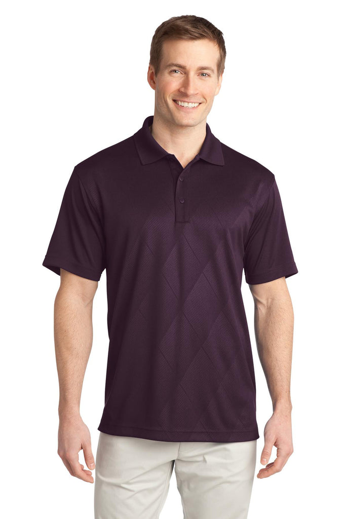 Port Authority® Tech Embossed Polo. K548 - Port Authority - Officers Only - 1
