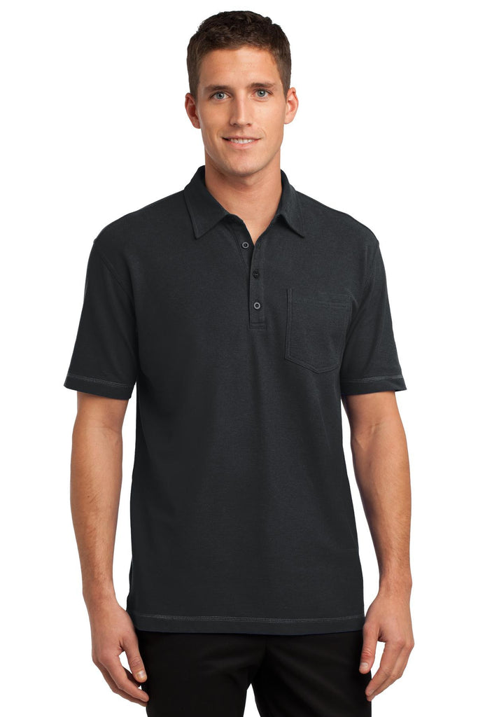 Port Authority® Modern Stain-Resistant Pocket Polo. K559 - Port Authority - Officers Only - 1