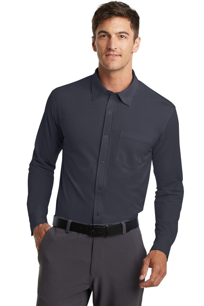 Port Authority® Dimension Knit Dress Shirt. K570 - Port Authority - Officers Only - 1