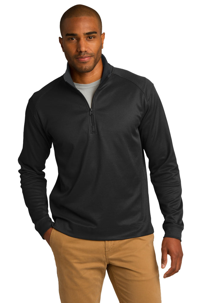 Port Authority® Vertical Texture 1/4-Zip Pullover. K805 - Port Authority - Officers Only - 1