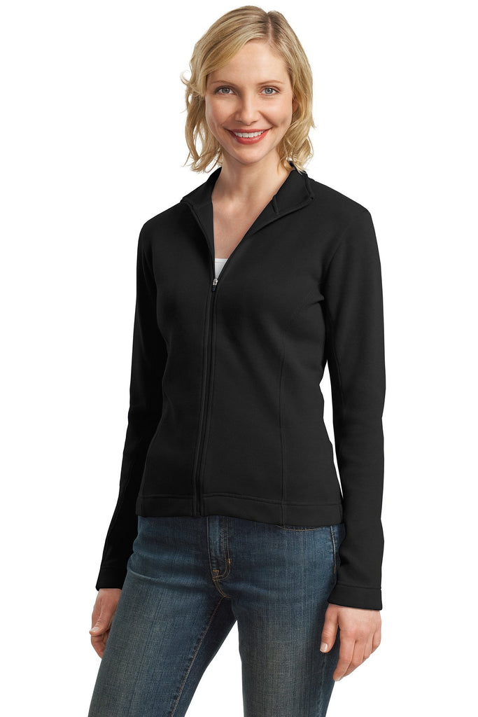 Port Authority® Ladies Flatback Rib Full-Zip Jacket.  L221 - Port Authority - Officers Only - 1