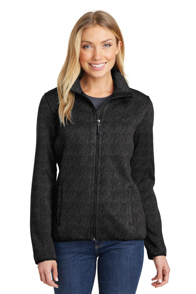 Port Authority® Ladies Sweater Fleece Jacket. L232 - Port Authority - Officers Only - 1