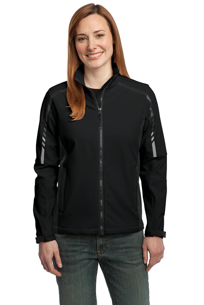 Port Authority® Ladies Embark Soft Shell Jacket. L307 - Port Authority - Officers Only - 1