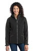 Port Authority® Ladies Gradient Hooded Soft Shell Jacket. L312 - Port Authority - Officers Only - 1