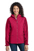 Port Authority® Ladies Gradient Hooded Soft Shell Jacket. L312 - Port Authority - Officers Only - 2