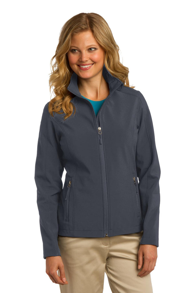 Port Authority® Ladies Core Soft Shell Jacket. L317 - Port Authority - Officers Only - 1
