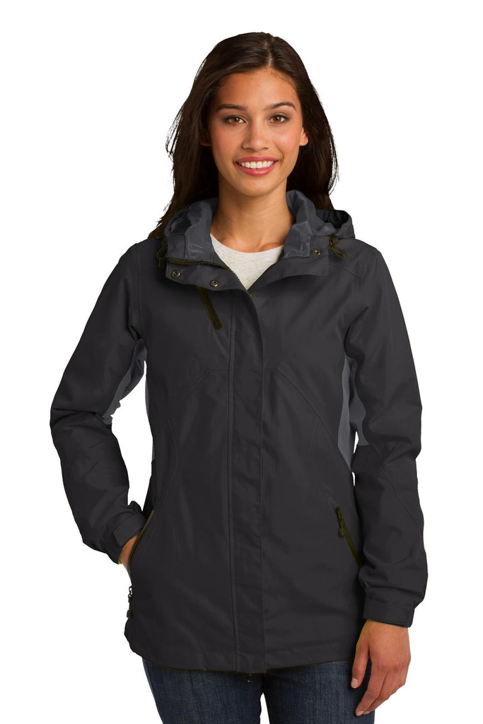Port Authority® Ladies Cascade Waterproof Jacket. L322 - Port Authority - Officers Only - 1