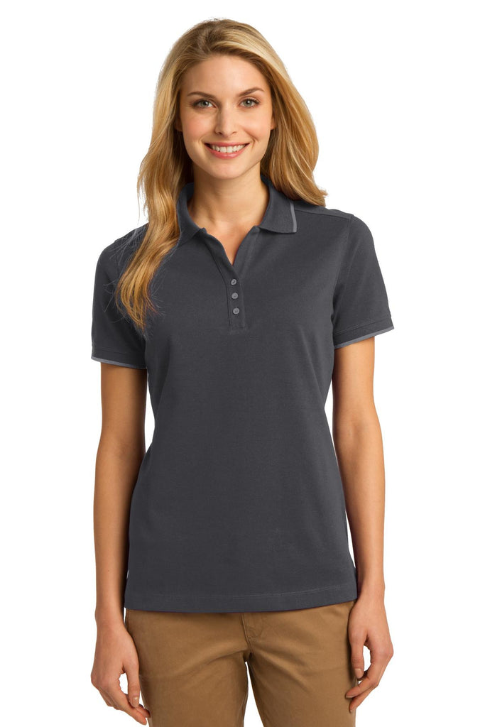 Port Authority® Ladies Rapid Dry™ Tipped Polo. L454 - Port Authority - Officers Only - 2