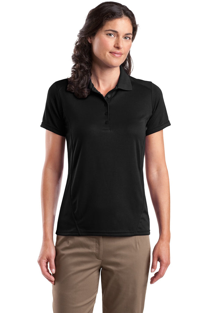 Sport-Tek® Ladies Dry Zone® Raglan Accent Polo. L475 - Sport-Tek - Officers Only - 1