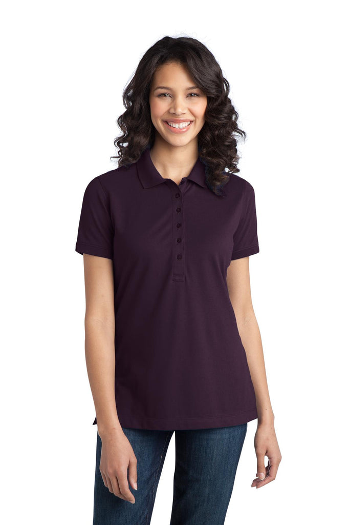 Port Authority® Ladies Stretch Pique Polo. L555 - Port Authority - Officers Only - 1