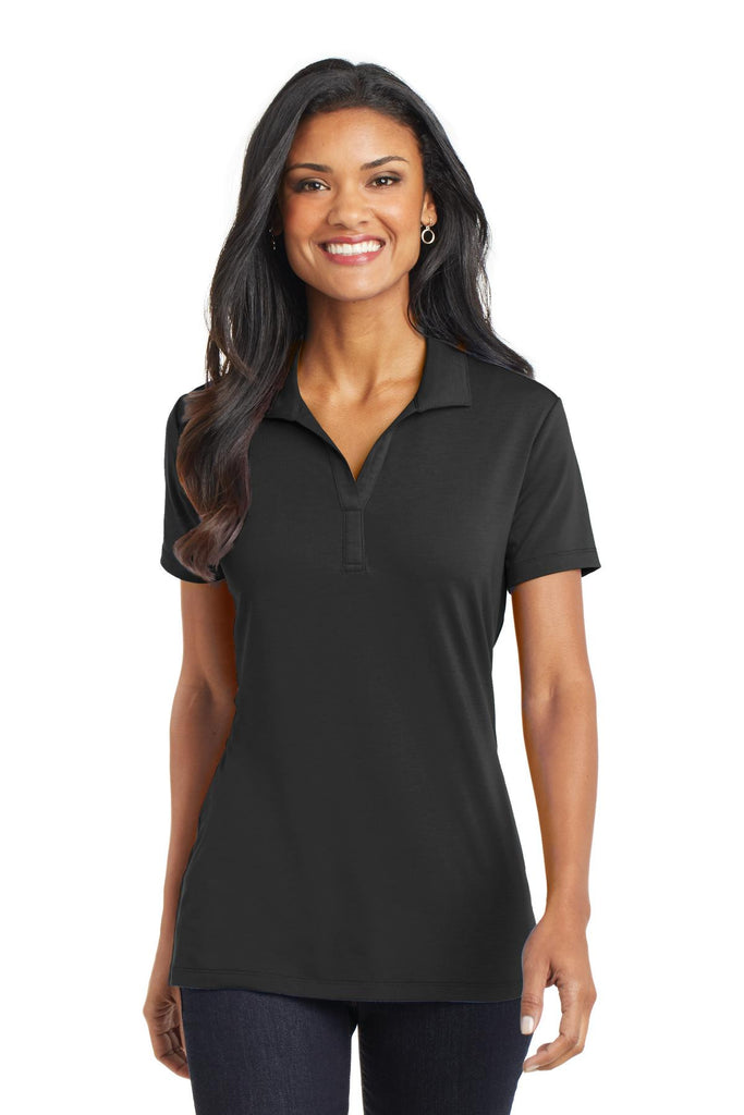 Port Authority® Ladies Cotton Touch Performance Polo. L568 - Port Authority - Officers Only - 1