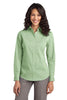 Port Authority® Ladies Fine Stripe Stretch Poplin Shirt. L647 - Port Authority - Officers Only - 4