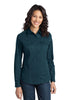 Port Authority® Ladies Stain-Resistant Roll Sleeve Twill Shirt. L649 - Port Authority - Officers Only - 4