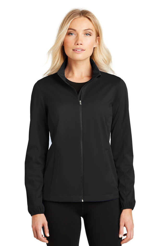 Port Authority® Ladies Active Soft Shell Jacket. L717 - Port Authority - Officers Only - 1