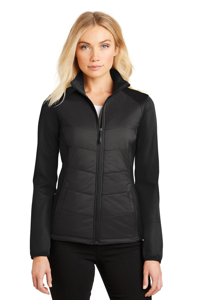 Port Authority® Ladies Hybrid Soft Shell Jacket. L787 - Port Authority - Officers Only - 1
