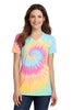 Port & Company® Ladies Essential Tie-Dye V-Neck Tee.  LPC147V - Port & Company - Officers Only - 4