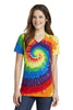 Port & Company® Ladies Essential Tie-Dye V-Neck Tee.  LPC147V - Port & Company - Officers Only - 7
