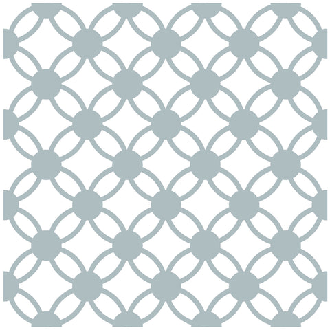 15 cm Links Pattern Ceramic Wall Tile - Kitchen Feature Tiles - 1