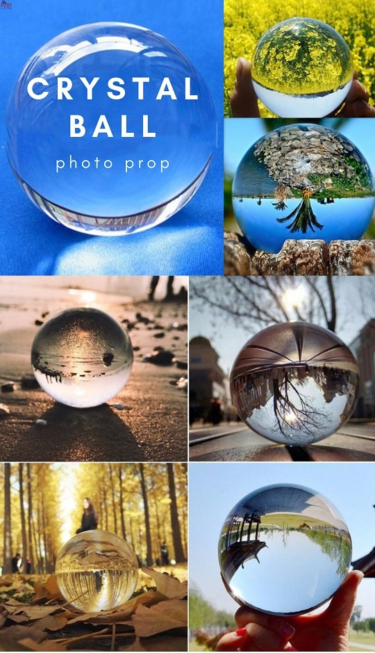 Crystal Ball Sphere Photography Prop