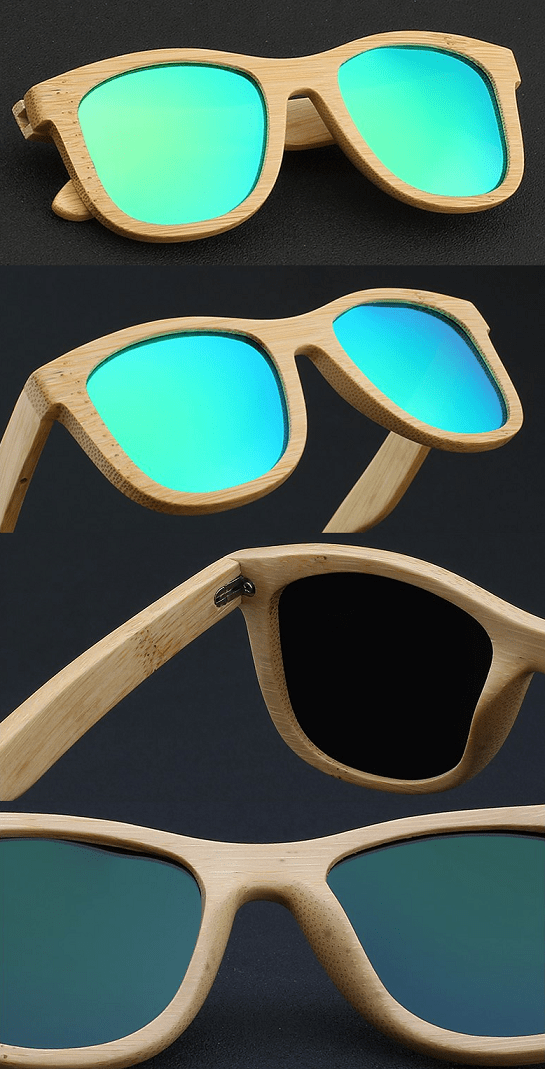 woods sunnies bamboo venice style
