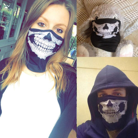 sceleton mask skull face mask