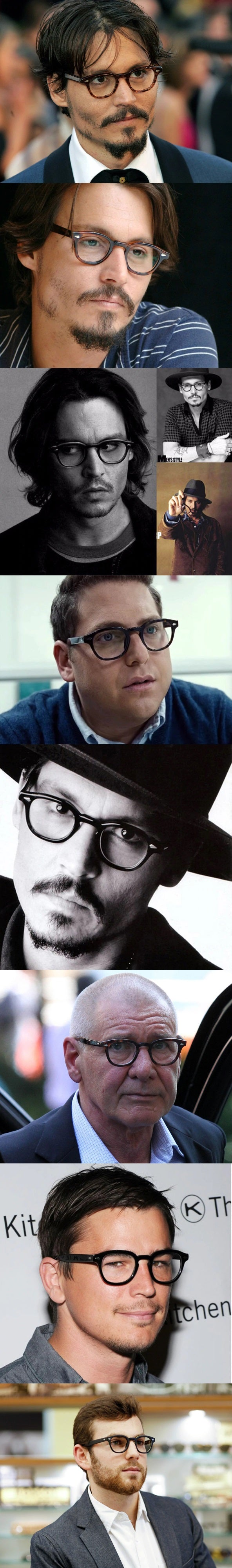 johnny depp eyeglasses