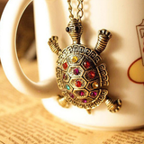 Cute Vintage Turtle Necklace Free Offer