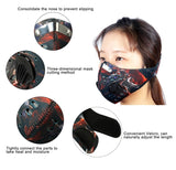 Travel Mask - Biking Anti Airborne Particles, Viruses and Smog Face Mask