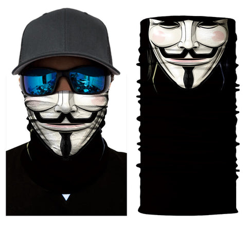 bike face mask annonymous