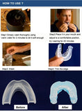how to use Silicone Mouthpiece Stop Snoring Solution